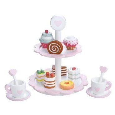 لعبة برج الحلويات والبوظة Lelin - Dessert Tower Heart