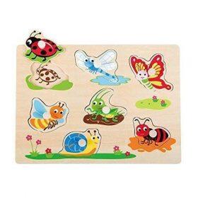 لعبة Lelin - Insect Peg Puzzle