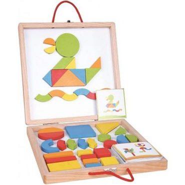 لعبة Lelin - Multi-Activity Blocks Box