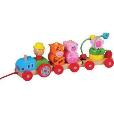 لعبة القطار Lelin - Activity Tractor