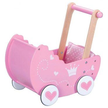 عربة الدمية للأطفال Lelin - Princess Doll's Pram
