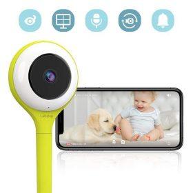 جهاز مراقبة فيديو للأطفال Lollipop HD WiFi Video Baby Monitor - فستقي