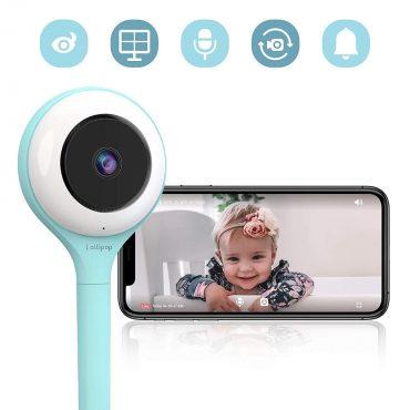 كاميرا فيديو لمراقبة الأطفال HD LOLLIPOP - فيروزي