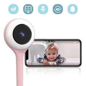 كاميرا فيديو لمراقبة الأطفال HD LOLLIPOP - وردي
