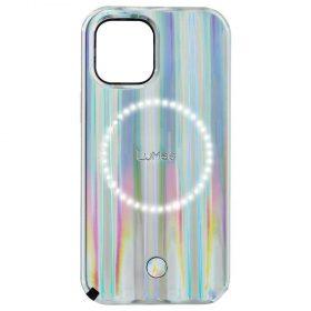كفر Lumee - Halo Selfie Case for Apple iPhone 12 Pro - Bolt