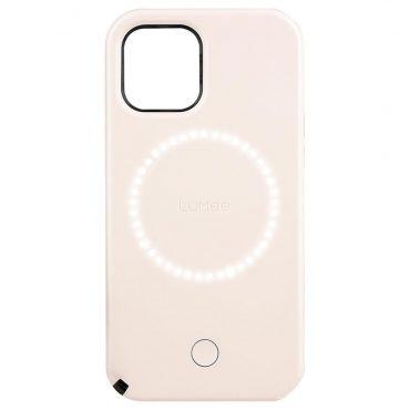 كفر Lumee - Halo Selfie Case for Apple iPhone 12 Mini - زهري