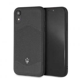 كفر iPhone Xr من Maserati - رمادي