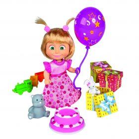 لعبة مجموعة عيد ميلاد ماشا SIMBA - Masha Birthday Set