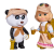 لعبة دمية ماشا والباندا SIMBA - Masha Scout
