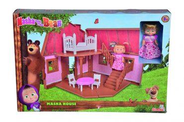 لعبة بيت ماشا القابل للطي  من طابقين SIMBA - Masha House