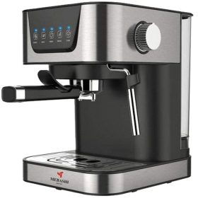 ماكينة قهوة MEBASHI - ESPRESSO COFFEE MACHINE-ME-ECM2006