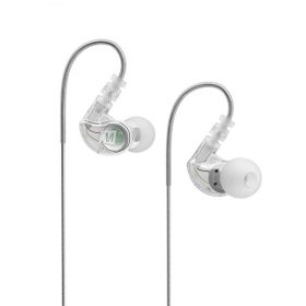 MEE audio M6 Memory Wire In-Ear Sports Headphones - Clear_x000D_