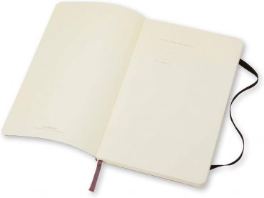 دفتر ملاحظات مسطر Moleskine - Classic Ruled Paper Notebook - A5 - 192 صفحة / أسود