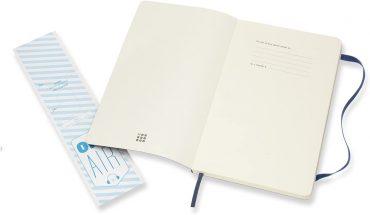 دفتر ملاحظات مسطر Moleskine - Classic Ruled Paper Notebook - A5 - 192 صفحة / أزرق ياقوتي