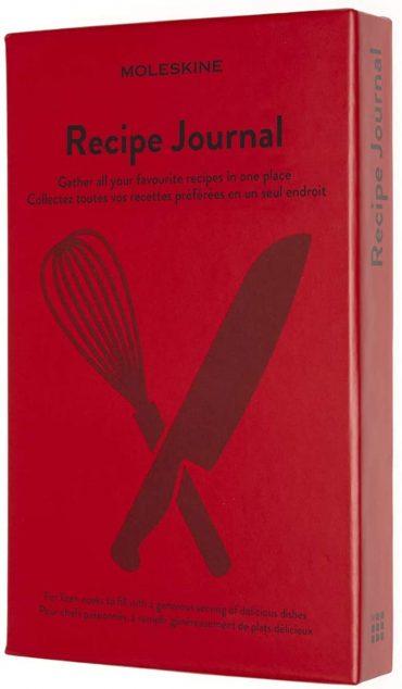 دفتر ملاحظات لكتابة وصفات الأكل Moleskine - Recipe Journal Theme Notebook - 400 صفحة
