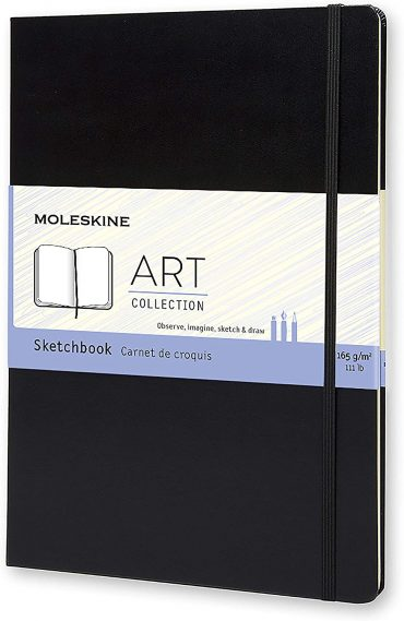 دفتر رسم Moleskine - Art Collection Watercolor Notebook - 72 صفحة / أسود
