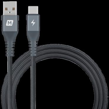 كابل ELITE LINK TYPE-C 5A CABLE TRIPLE-BRAIDED 1.2M - MOMAX