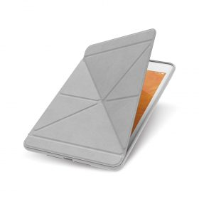 كفر حماية بغطاء قابل للطي Moshi - VersaCover Case for 2019 iPad Mini 5th Gen - رمادي