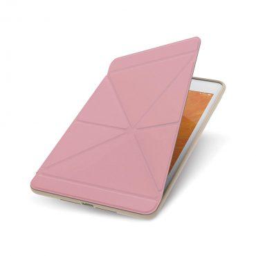 كفر حماية بغطاء قابل للطي Moshi - VersaCover Case for 2019 iPad Mini 5th Gen - زهري