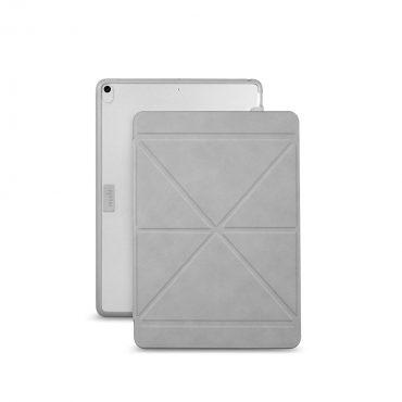 كفر حماية بغطاء قابل للطي Moshi - VersaCover Case for iPad Pro / iPad Air 10.5 inch - رمادي