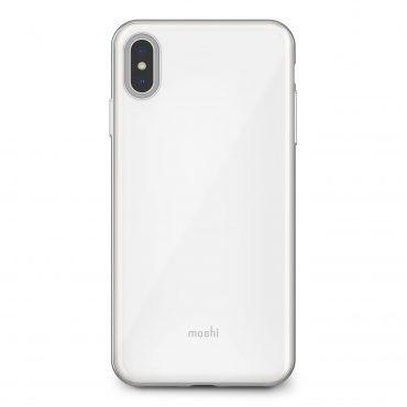 كفر iPhone XS Max من MOSHI - أبيض لؤلؤي