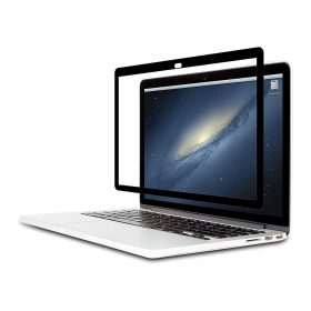 شاشة حماية Macbook Pro 15 من MOSHI – أسود (شفاف لامع)