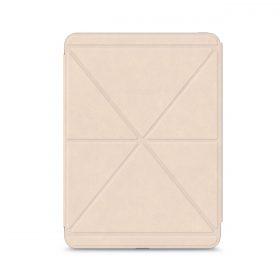كفر حماية بغطاء قابل للطي Moshi - VERSACOVER for iPad Pro 11 (2nd/1st Gen) - بيج