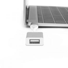 محول USB-C إلى USB من MOSHI - فضي