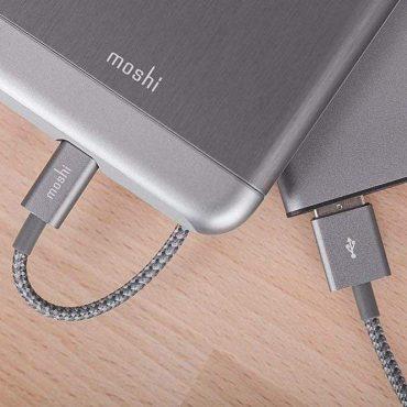 كابل شحن USB-A مع موصل Lightning - MOSHI