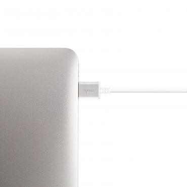 كابل HDMI عالي السرعة من MOSHI - أبيض