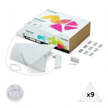 ألواح الإضاءة الذكية من (نانوليف)  - تتغير مع اللمس و الموسيقى - 9 ألواح إضاءة + لوح تحكم