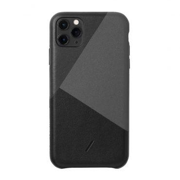 كفر iPhone 11 Pro  موديل Marquetry NATIVE UNION - أسود