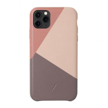 كفر iPhone 11 Pro Max موديل Marquetry NATIVE UNION - وردي