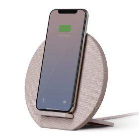 شاحن وحامل لاسلكي Native Union Dock Wireless Stand - وردي