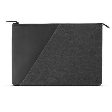 حقيبة قماشية نحيفة مقاس 15 بوصة Native Union - Stow Macbook Case Fabric Slate