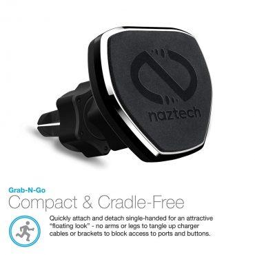 حامل مغناطيسي قوي NAZTECH - أسود