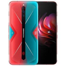 هاتف الألعاب Nubia RedMagic 5G – رامات 12 جيجا – 256 جيجا تخزين – أحمر مع أزرق