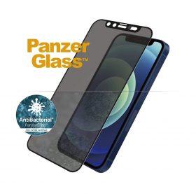 شاشة حماية PanzerGlass - Dual Privacy iPhone 12 Mini Screen Protector - إطار أسود