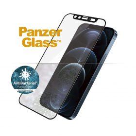 شاشة حماية PanzerGlass - Cam Slider iPhone 12  Pro Max Screen Protector - إطار أسود