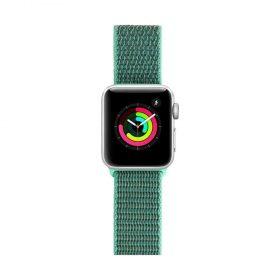 Porodo Nylon Watch Band For Apple Watch 44mm/42 - Light Green_x000D_