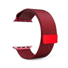 حزام ساعة آبل المعدني بتصميمه الأنيق  44 مللي/42 مللي - جميع الألوان