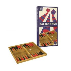 لعبة الطاولة الخشبية Professor Puzzle - WOODEN BACKGAMMON Board Game