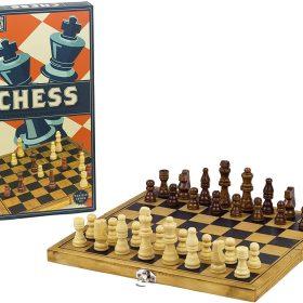 لعبة الشطرنج الكلاسيكية Professor Puzzle - WOODEN CHESS Board Game