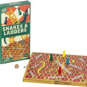 لعبة لغز الأفاعي والسلالم الخشبية Professor Puzzle - WOODEN SNAKES AND LADDERS