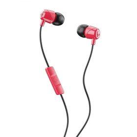 سماعة رأس مع ميكروفون Jib In-Ear Headphones with Mic Skullcandy - أسود/ أحمر