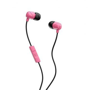 سماعة رأس مع ميكروفون Jib In-Ear Headphones with Mic Skullcandy - أسود/ وردي