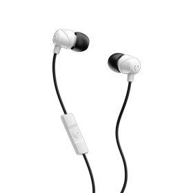سماعة رأس مع ميكروفون Jib In-Ear Headphones with Mic Skullcandy - أسود/ أبيض