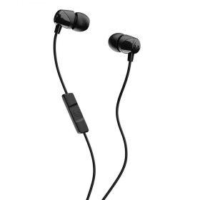 سماعة رأس مع ميكروفون Jib In-Ear Headphones with Mic Skullcandy - أسود/ أسود