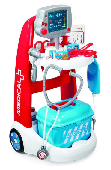 لعبة العربة الطبية Smoby - Medical Trolley With 16 Accessories
