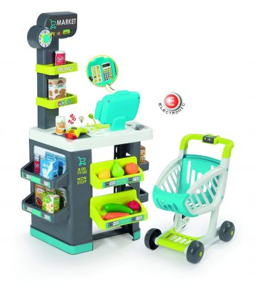 لعبة السوبر ماركت Smoby - Super Market With 34 Accessories